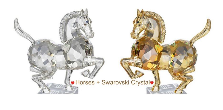 Horse and Swarovski Crystal